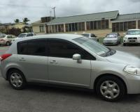 NIssan Tiida---Hatch back